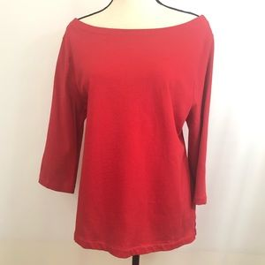 Old Navy Red Lightweight Sweater